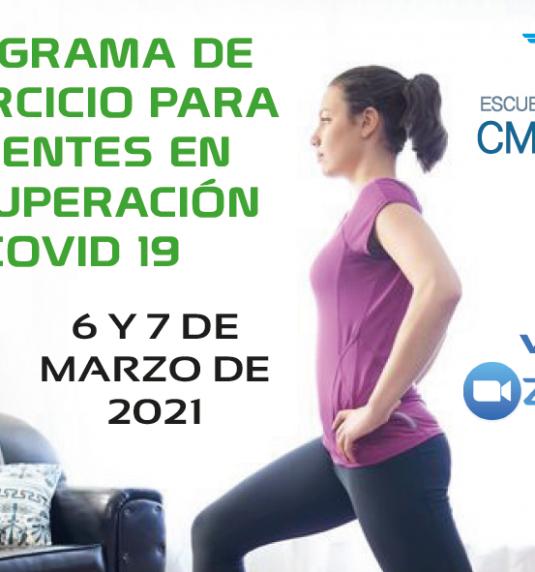 Programa de ejercicio para pacientes en recuperación de Covid 19