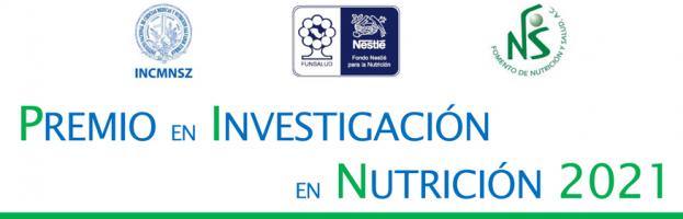Premio en Investigación en Nutrición 2021